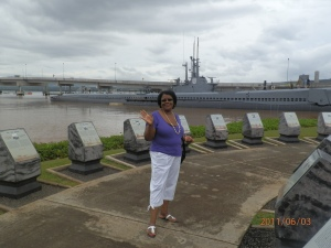 Mommy at Pearl Harbor